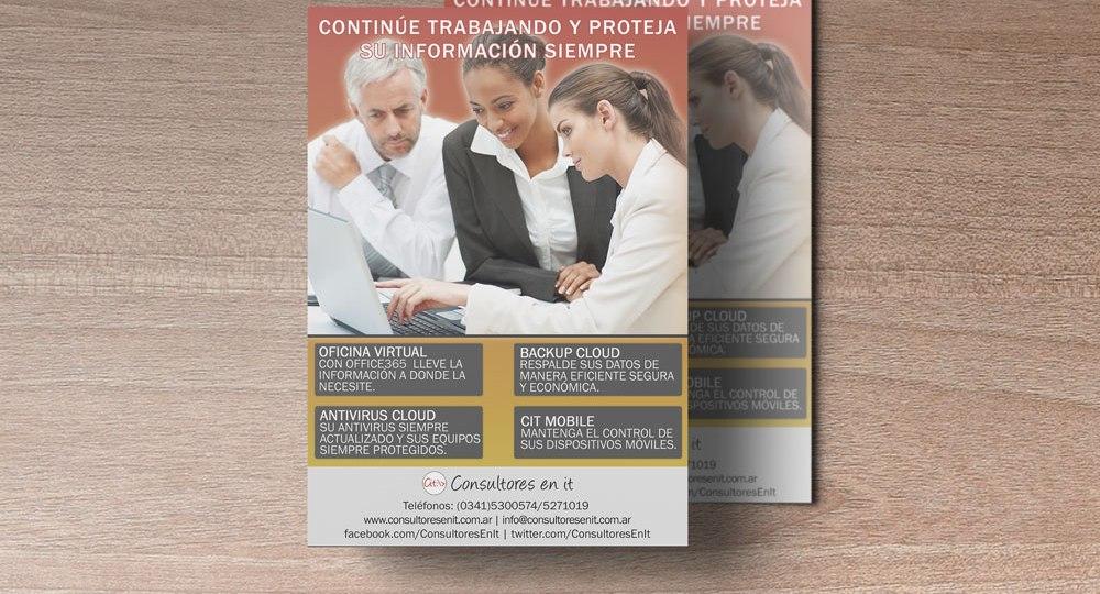 Diseño de anuncios para Consultores en it