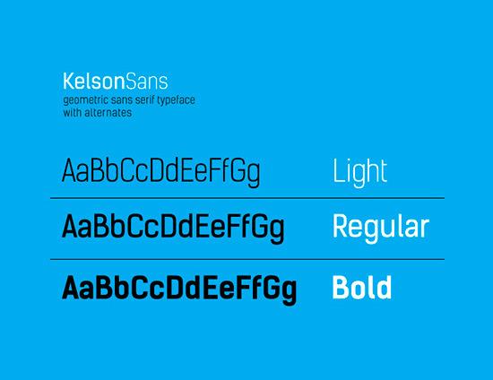 tipografía gratis kelson
