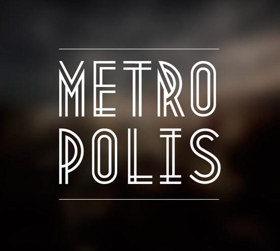 Tipografía gratis Metropolis