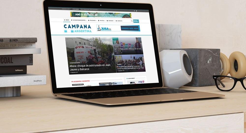 desarrollo web campana argentina