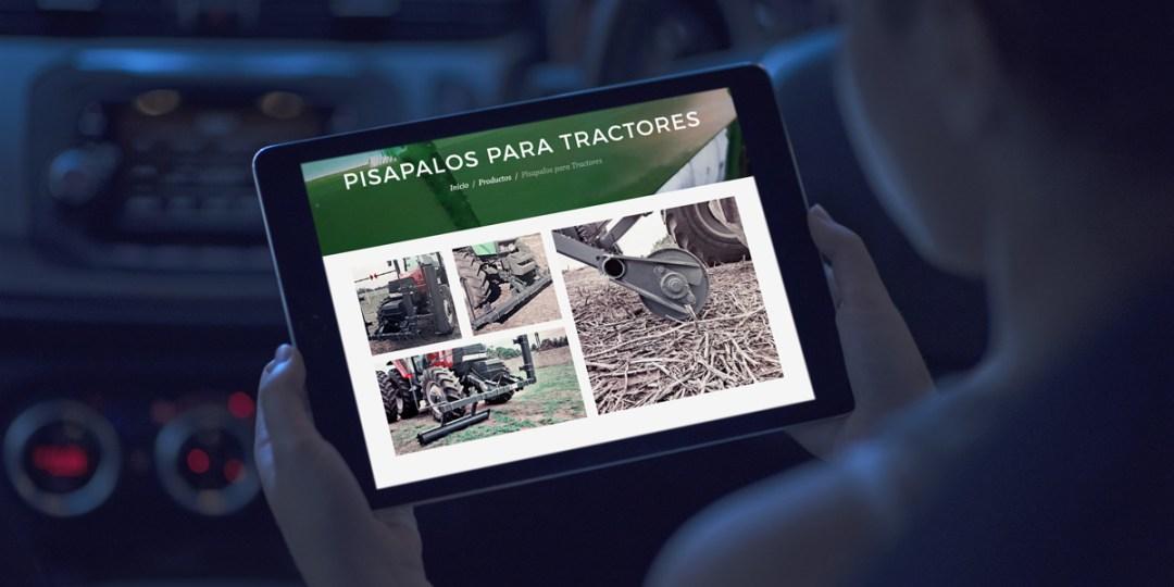 Diseño web para Industrias Maidana