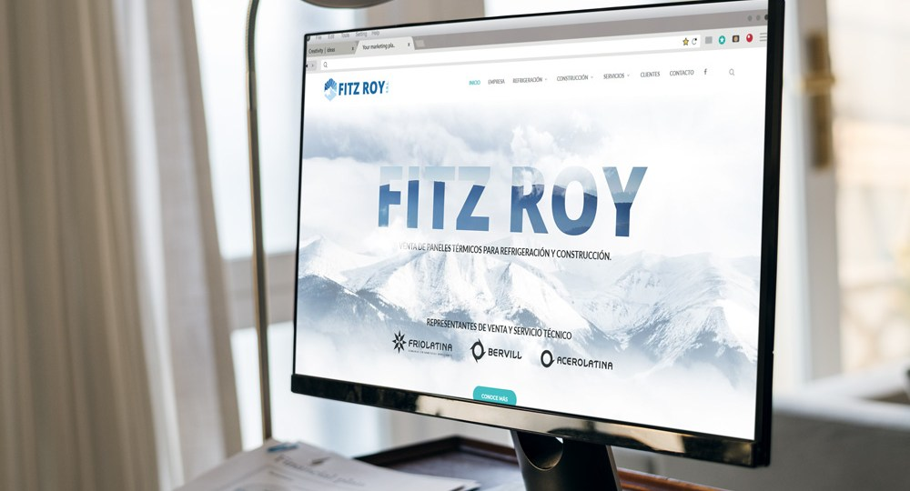 diseño web para fitz roy srl