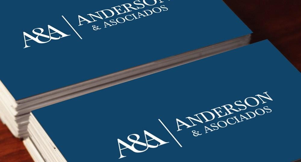 Diseno Logo Anderson Y Asociados