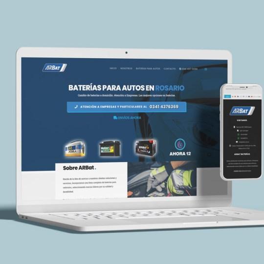 Diseño Web Arbart