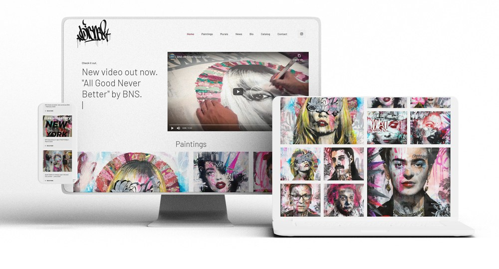 Diseño Web Bns