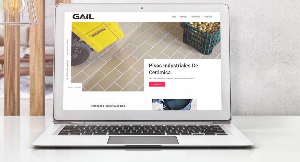 Diseño Web Ceramicas Gail