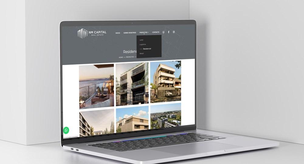 Diseño Web Nmcapital2