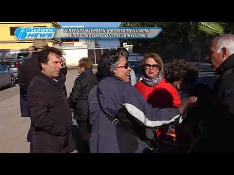 VERTENZA MYRMEX, PRONTA DENUNCIA DEI LAVORATORI CONTRO LA REGIONE
