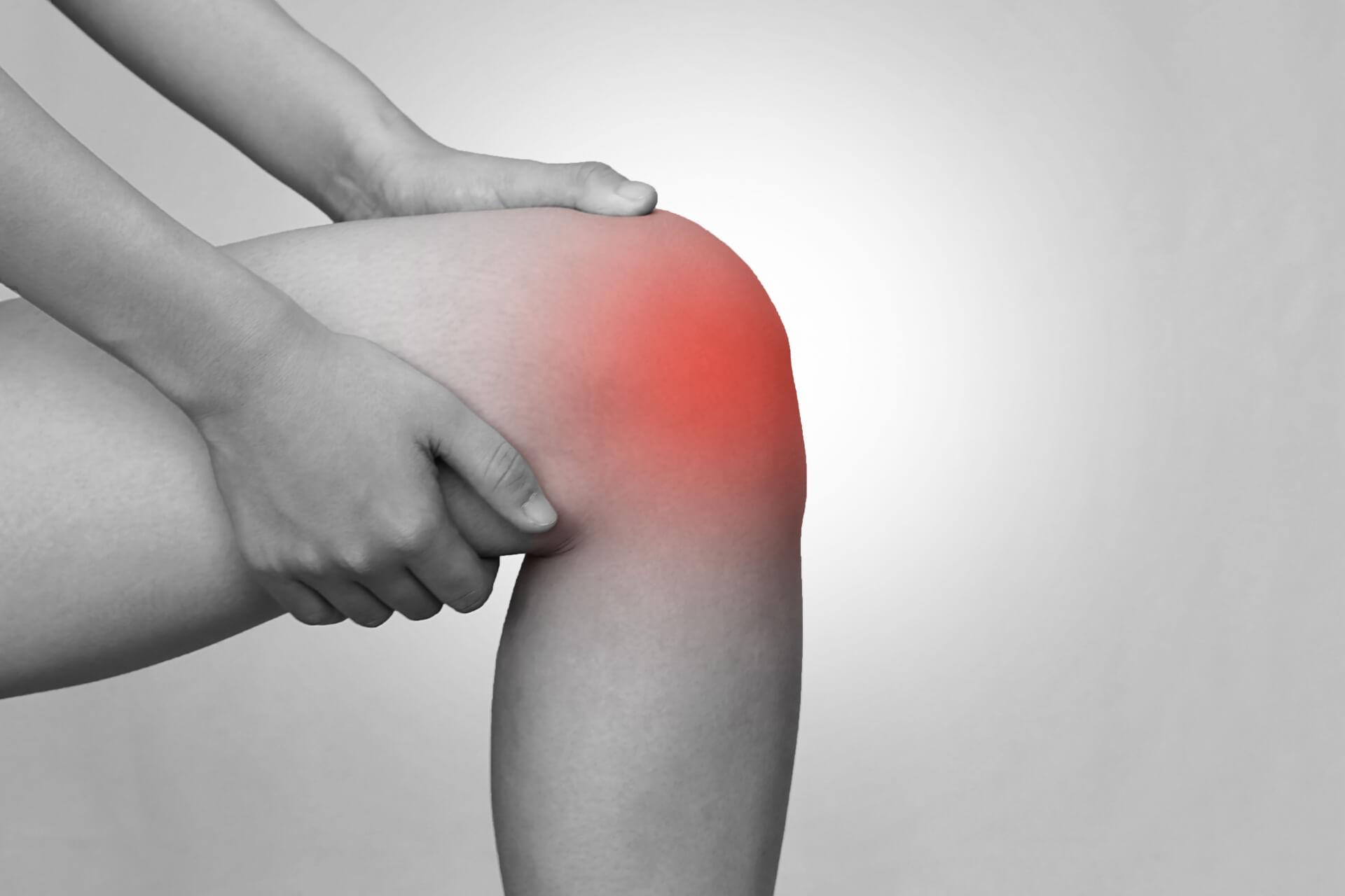 変形性膝関節症と湿布