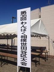 第36回わんぱく相撲世田谷区大会【終了】