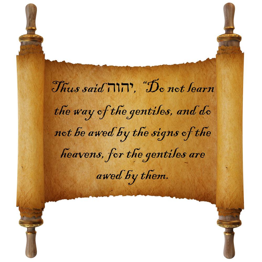 Kuvahaun tulos haulle Jeremiah 10:2