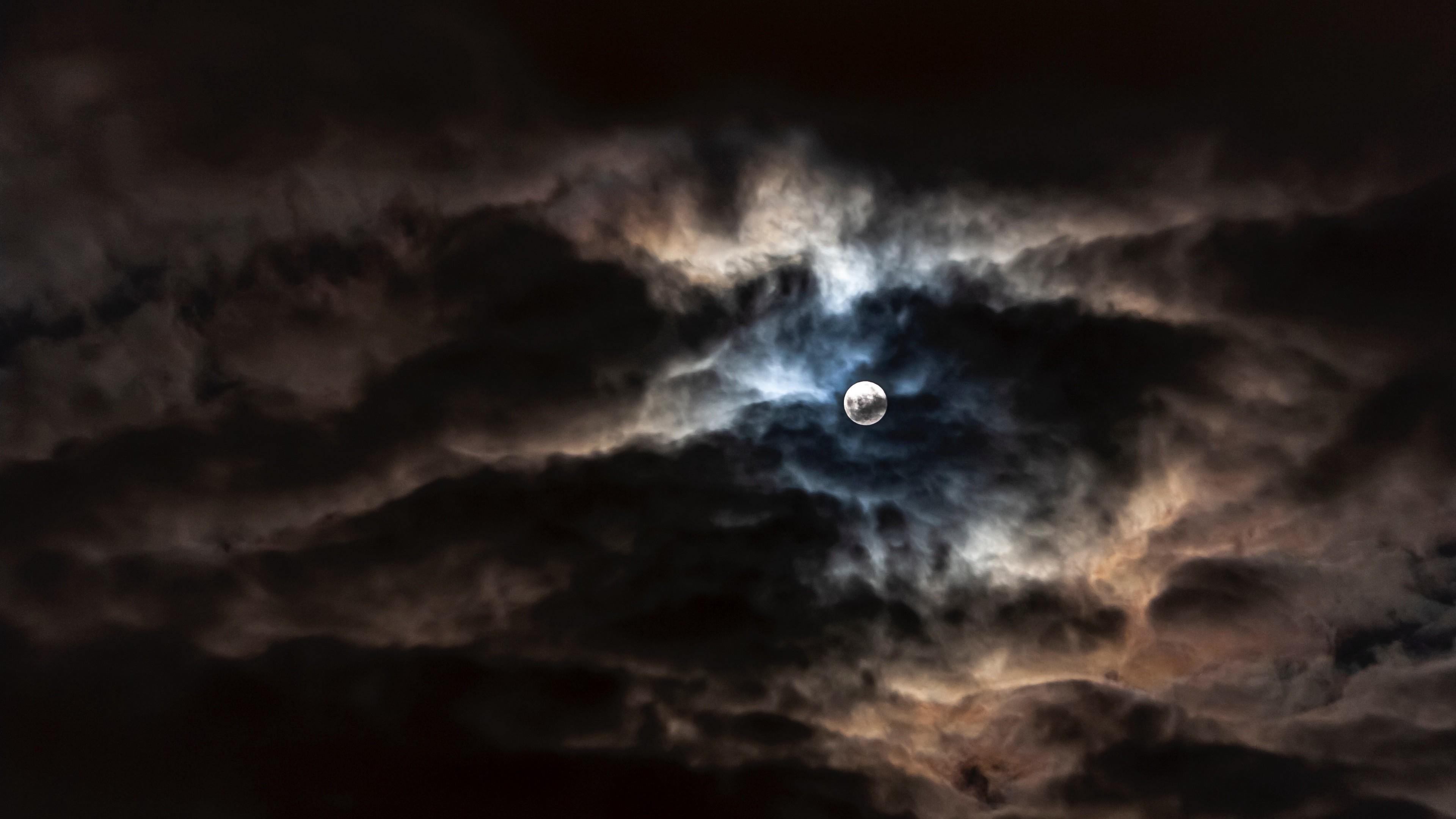 4k moon full moon