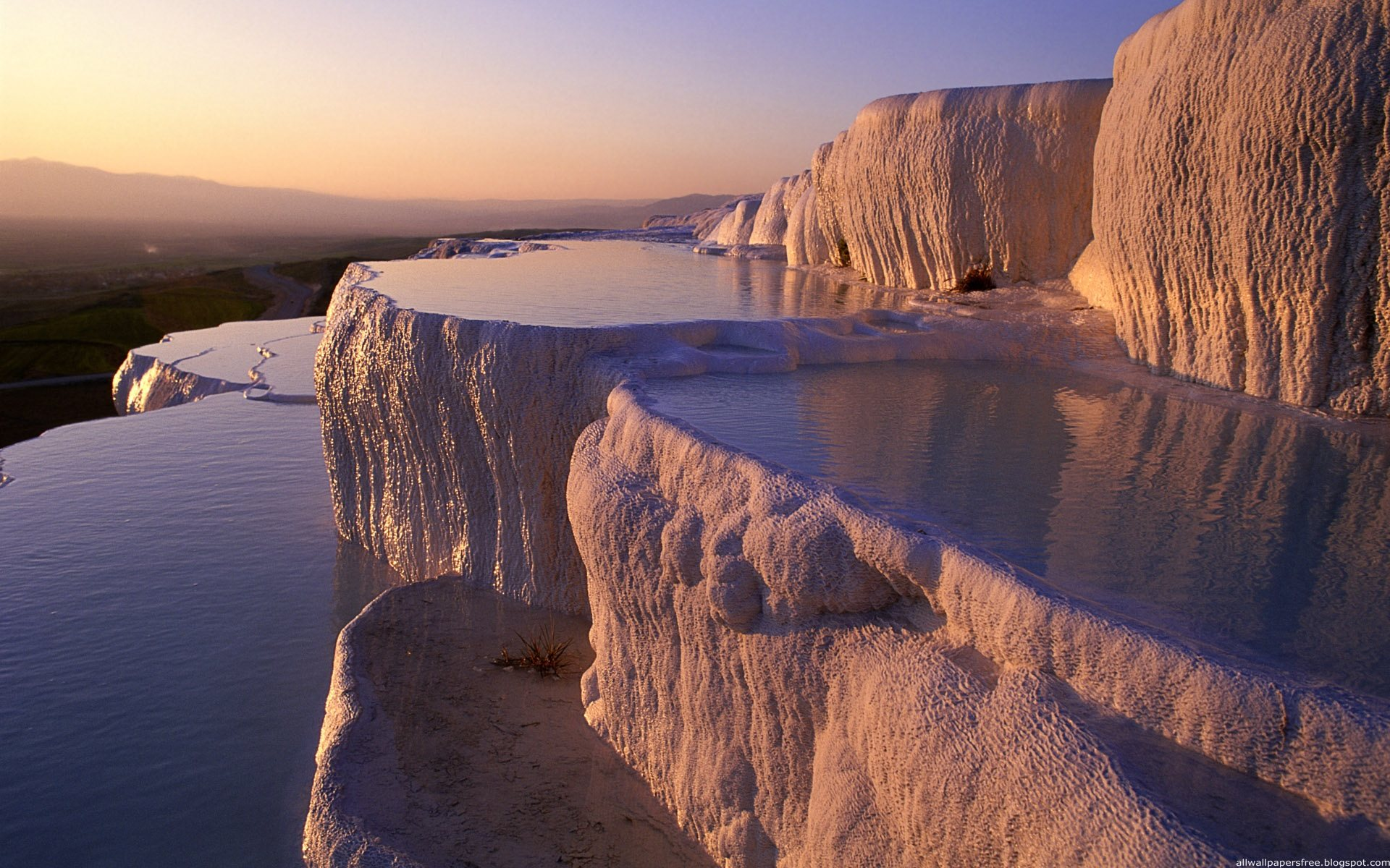 Biker Wallpaper Quotes Pamukkale Turkey Wallpaper 1920x1200