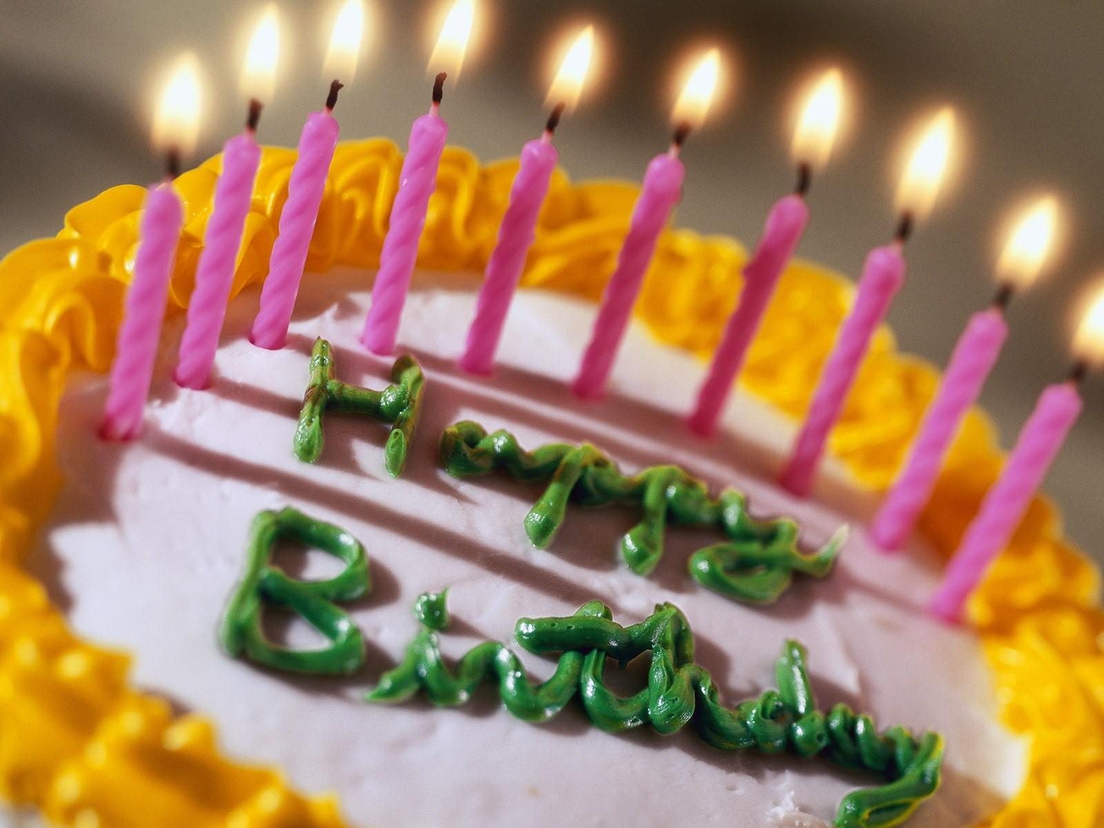 cake candles baking wallpaper