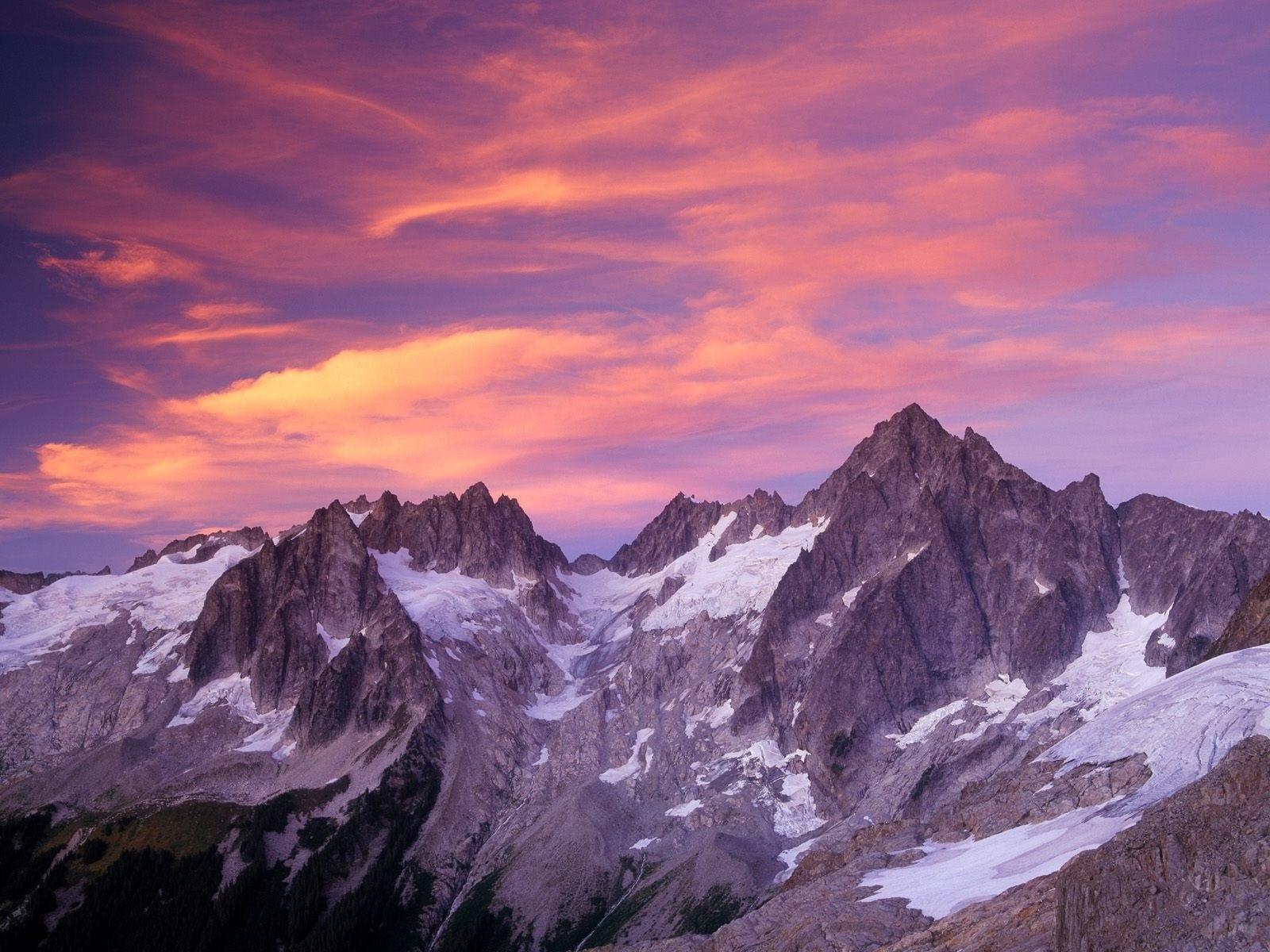 Iphone X 4k Wallpaper Download Winter Evening Mountains 1600 X 1200