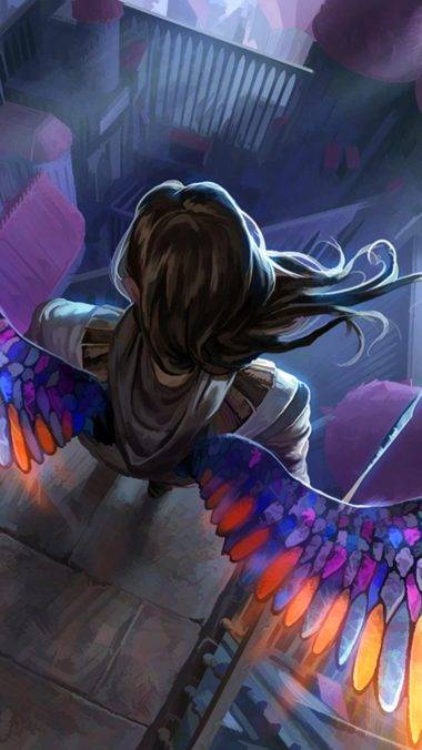 Anime Girl Angel Wallpaper Hd 1080x1920 Wallpapers Hd