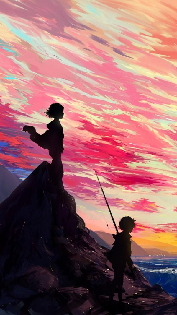 Anime Art Zq Wallpaper - 2160x3840