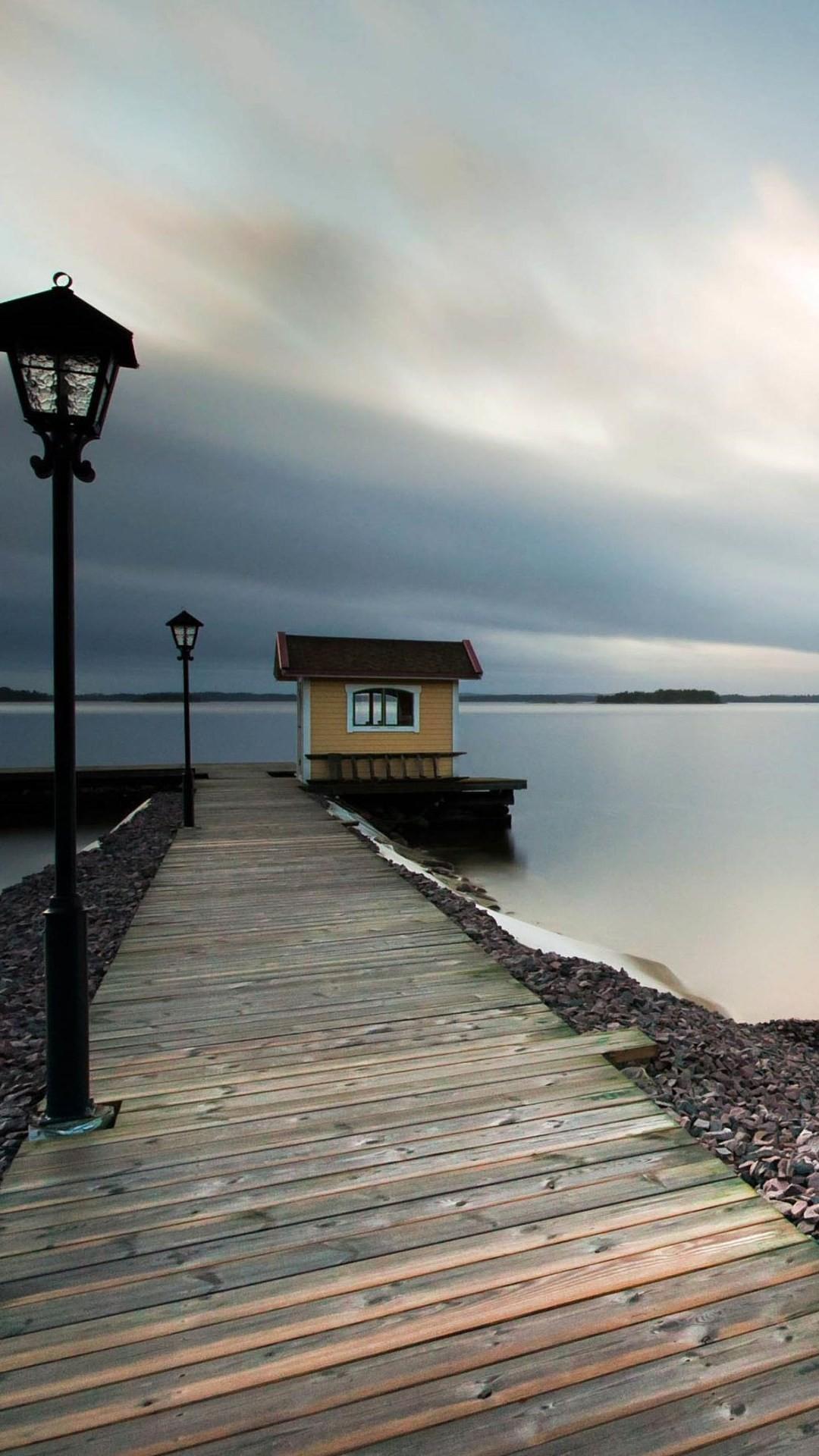 Best Amoled Wallpapers Iphone X Boat Port Wallpaper 1080x1920
