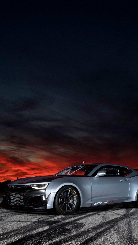 Solid Color Wallpaper Iphone 5 Chevrolet Camaro Zl1 1le Gt4 R 2017 5t Wallpaper 1080x1920