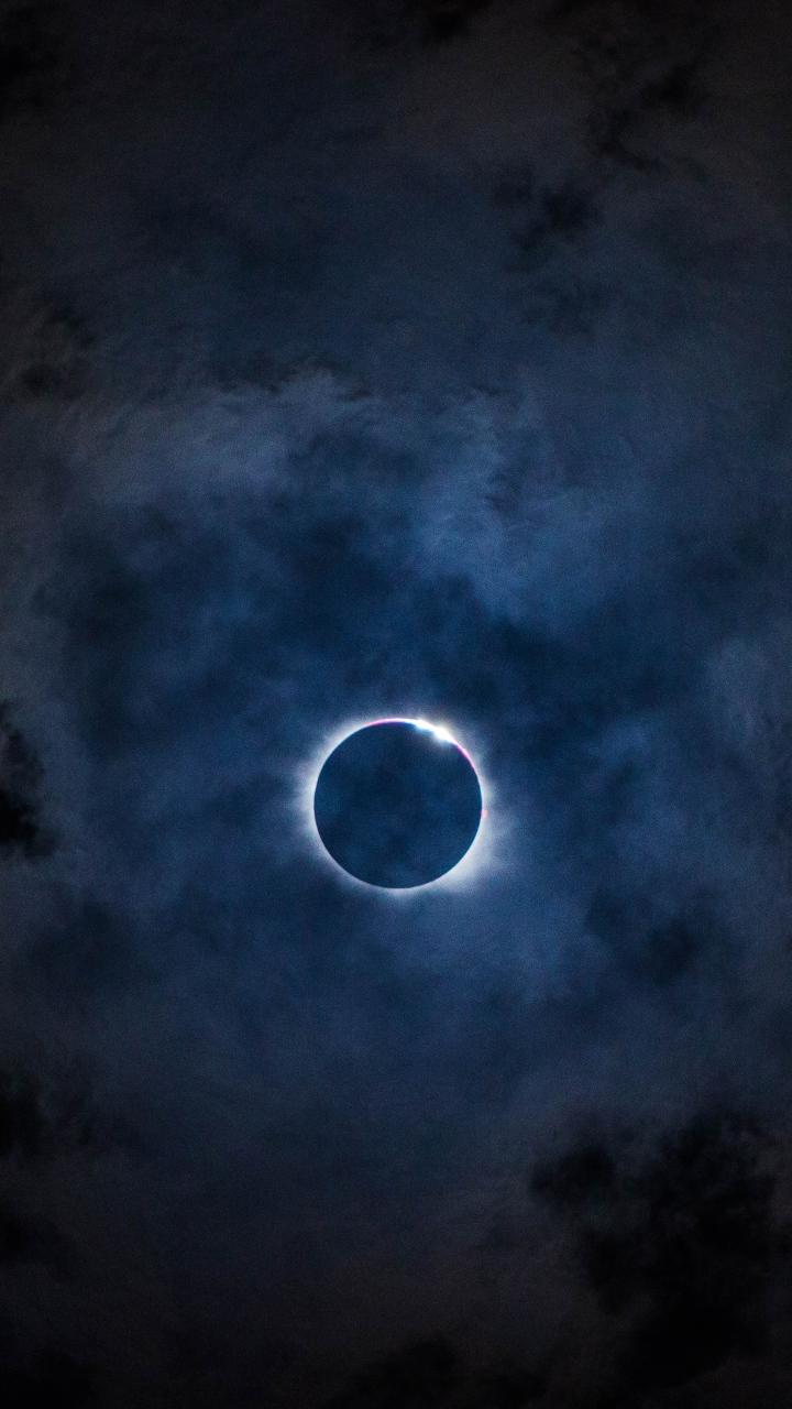 Eclipse Hd Wallpaper Eclipse Sky Moon Clouds Wallpaper 720x1280
