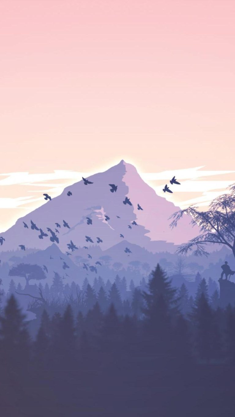 Superhero Hd Wallpapers Iphone Minimalism Birds Mountains Trees Forest 9k Wallpaper