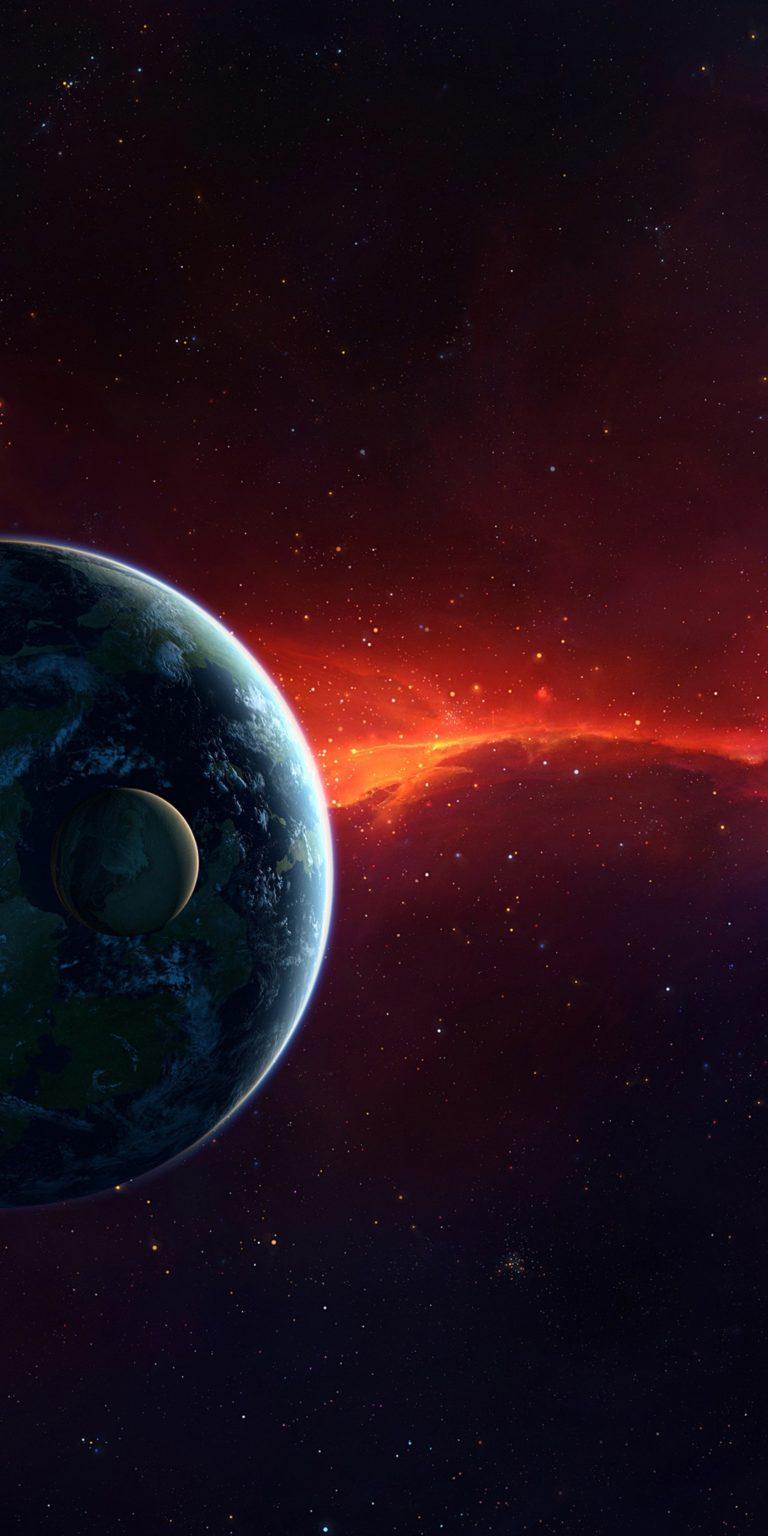 Planets Ultra HD Wallpaper 1080x2160