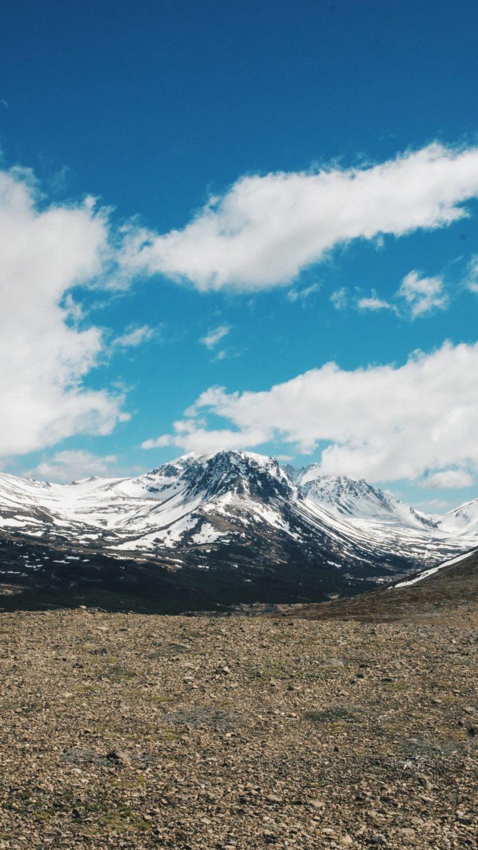 Whatsapp Car Wallpaper Download Mountains Sky Clouds Wallpaper 1440x2560