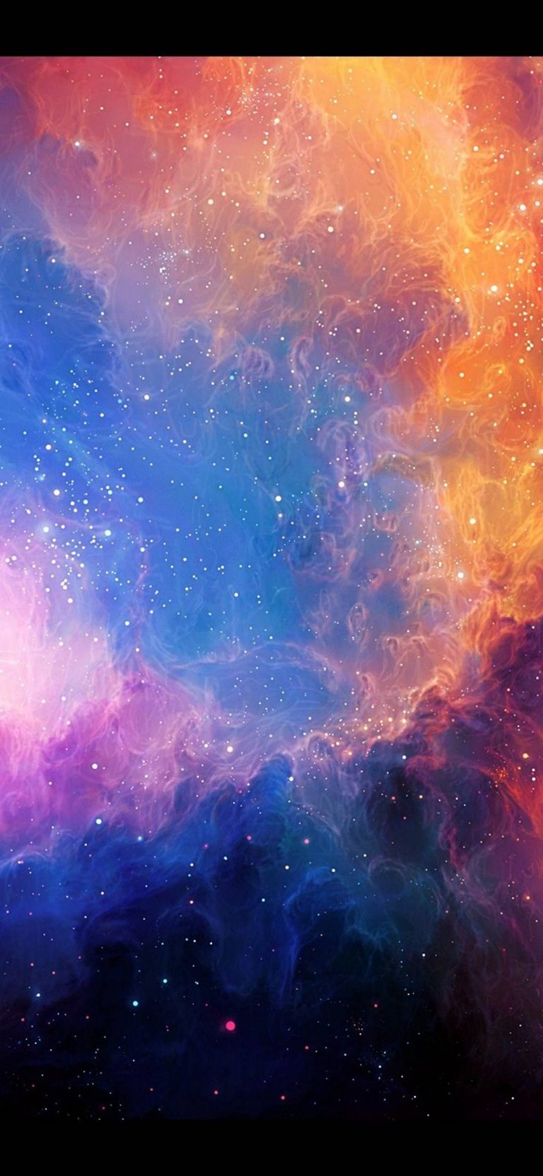 Car Wallpaper 720x1280 Abstract Outer Space Stars Nebulae 1080x2340