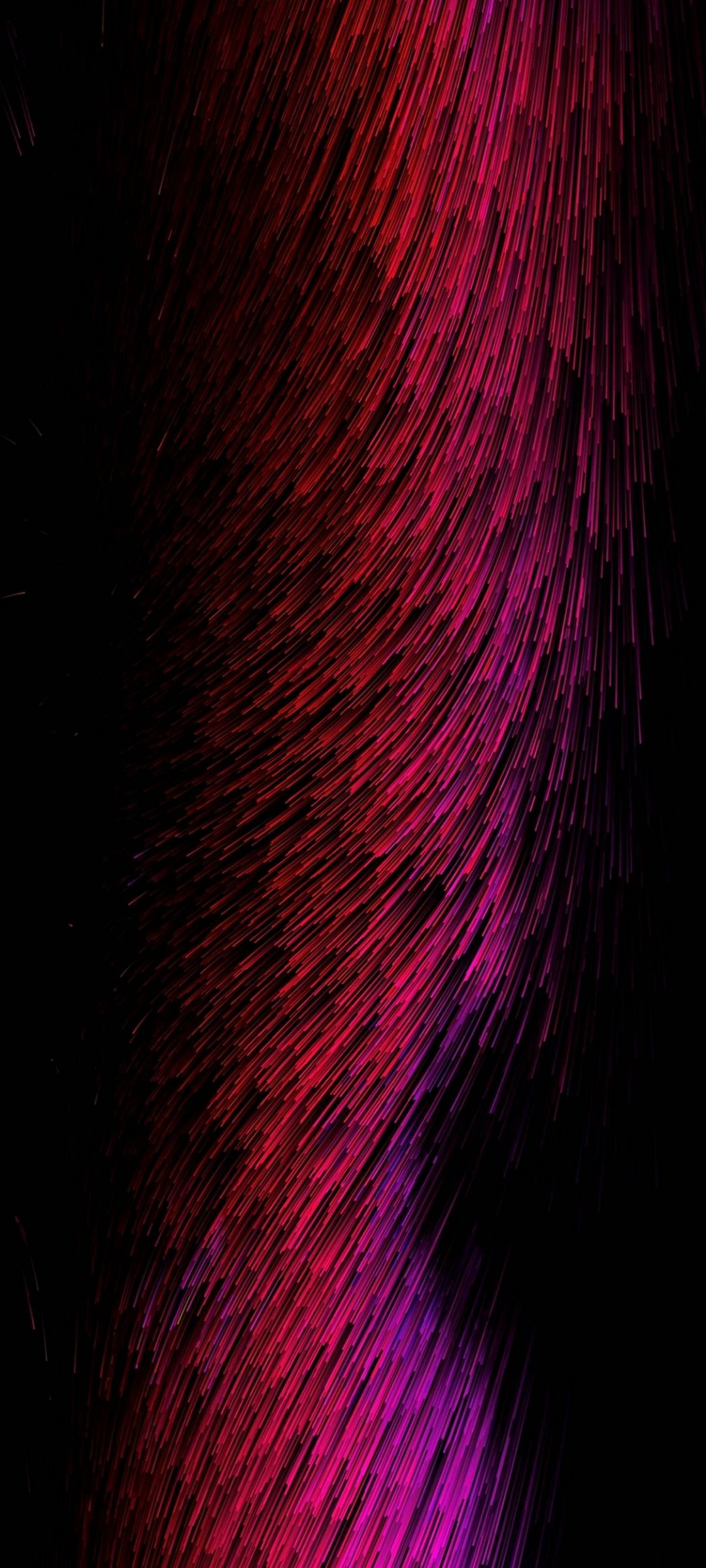 Pubg Phone Wallpaper Threads Glow Red Pink Abstract 1080x2400