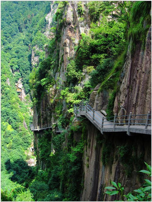 Cliffside Path, Huashan, China