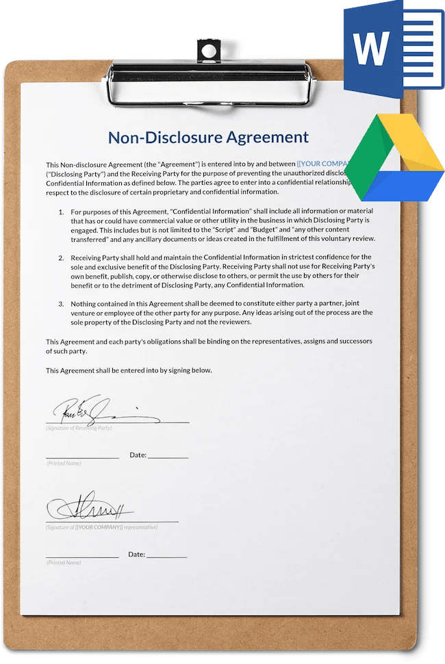 Using a nondisclosure agreement template not only gives you a head start in writing your confidentiality agreement but also helps prevent any possible breach of contract. Non Disclosure Agreement Template Sethero