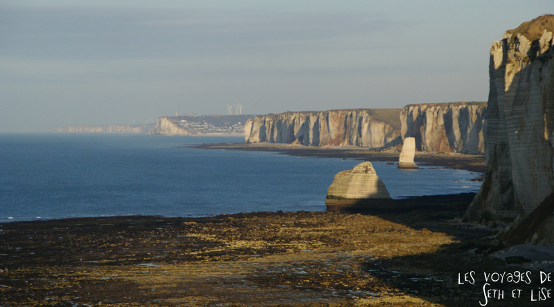 blog falaise etretat voyage