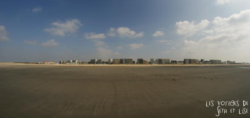 blog voyage touquet france digue immeuble plage