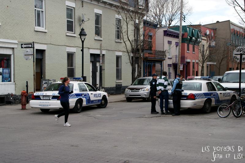 blog voyage canada montreal polices arrestation