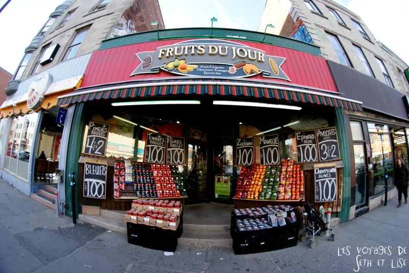 blog voyage canada montreal fruits boutique couleurs