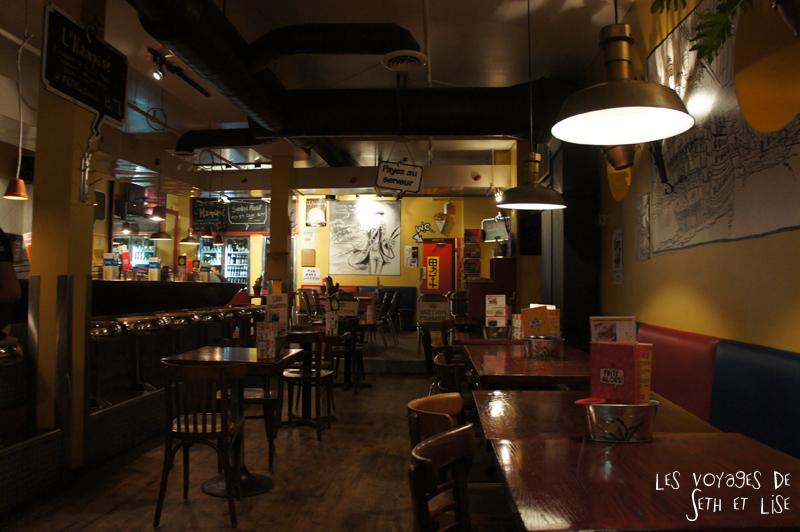 blog voyage canada pvt restaurant frite alors rachel bd comic