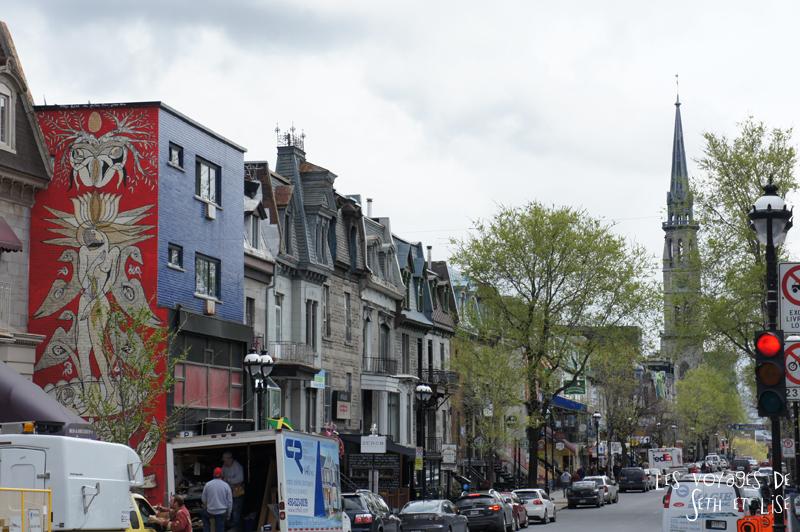 blog voyage canada pvt quartier latin street rue typique montreal
