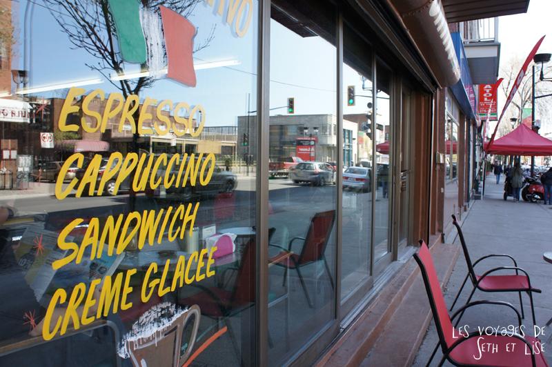 blog pvt canada montreal pvtistes couple tour du monde voyage italie italia petite italie mafia restaurant