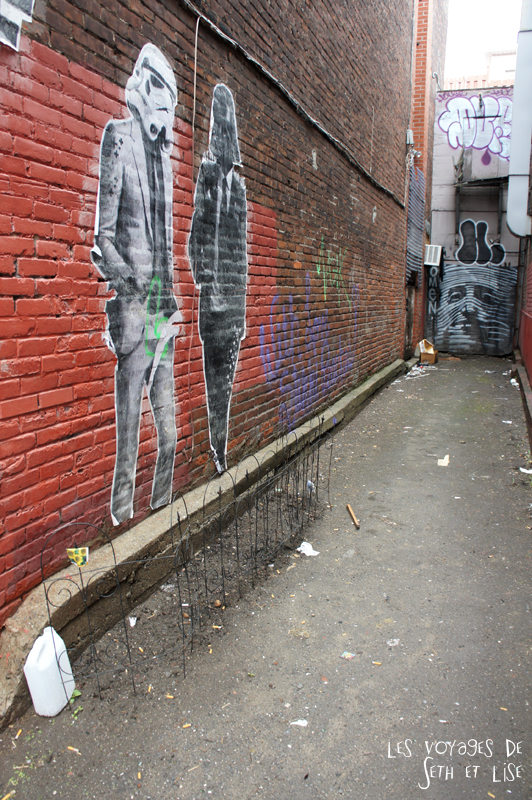 blog voyage canada pvt montreal mile end insolite star wars street art jardin drole