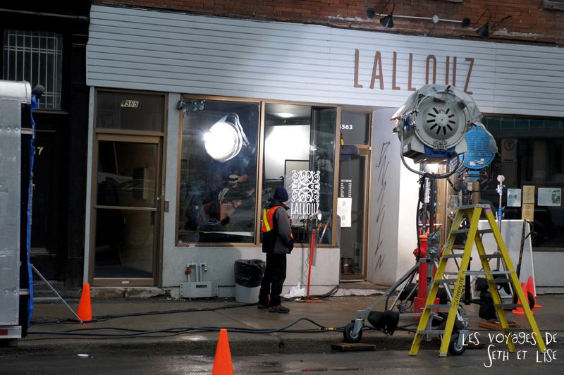 blog voyage canada pvt montreal mile end insolite scene tournage film restaurant