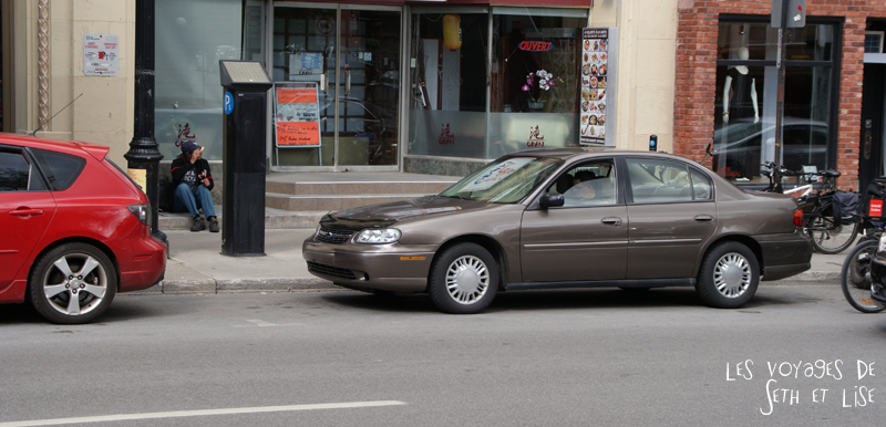 blog voyage canada montreal pvt voiture mystere enigme attente waiting car parking