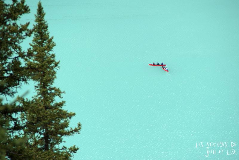blog pvt photographie pvtiste canada alberta rocheuses rockies moutains voyage montagne couple tour du monde nature parc national lac lake canoe louise