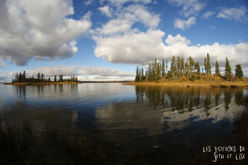 blog voyage canada pvt photo elk island alberta lac lake