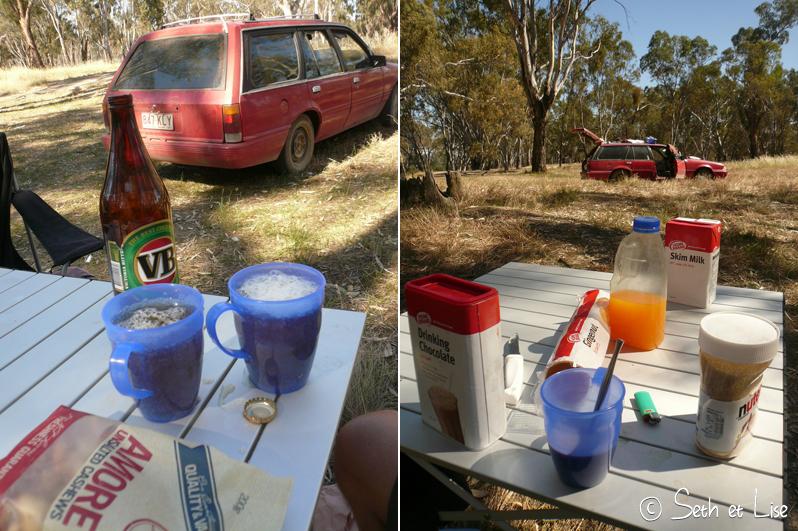 blog voyage conseil road trip aventure roadtrip voiture van apero dejeuner repas