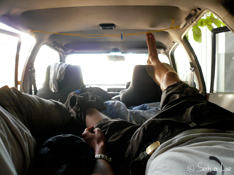 blog voyage conseil road trip aventure roadtrip voiture van sleep dodo
