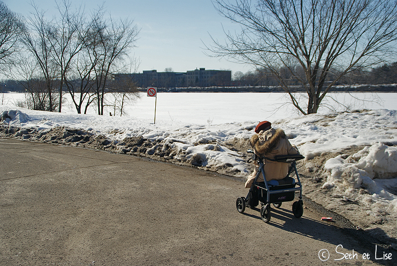 blog voyage canada pvt photo humour montreal hiver soleil