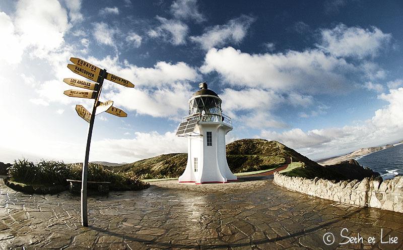 Cape Reinga, tout au bout de la Nouvelle-Zélande