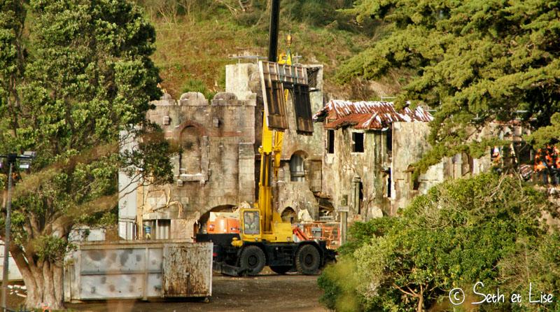 blog voyage nz zelande wellington photo film weta cave set