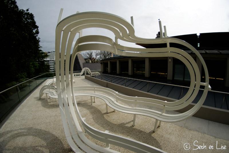 blog voyage nouvelle zelande whv auckland city art gallery banc