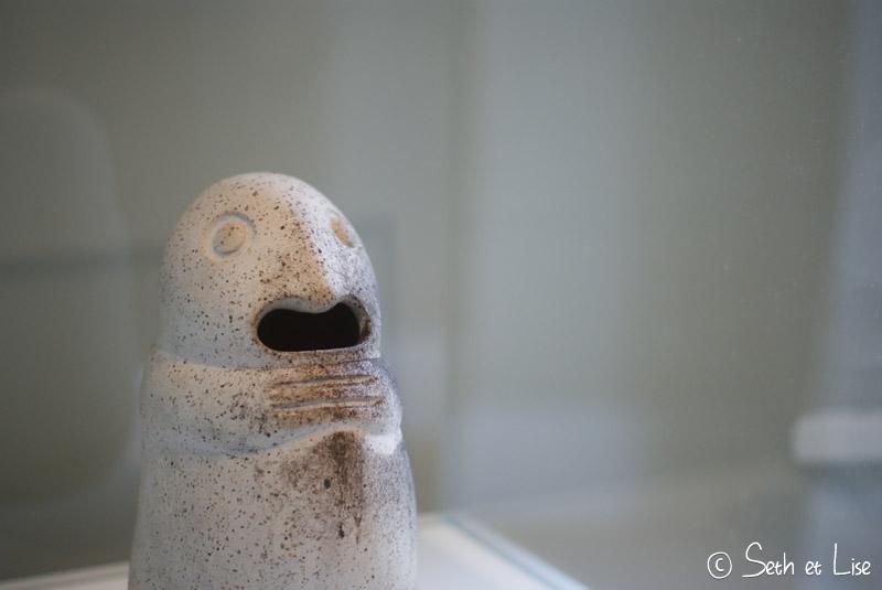 blog voyage nouvelle zelande whv auckland city art gallery sculpture fantome maori